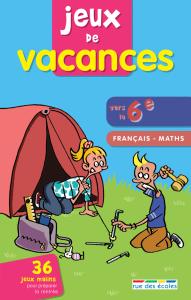Jeux de vacances Français-maths vers la 6e