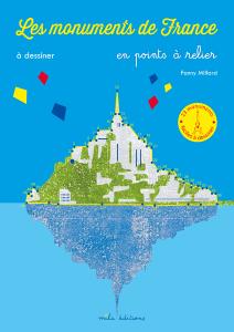 Les monuments de France dessiner en points à relier