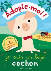 Adopte-moi ! Je suis un bébé cochon