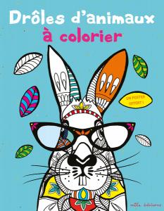 Drôles d'animaux à colorier