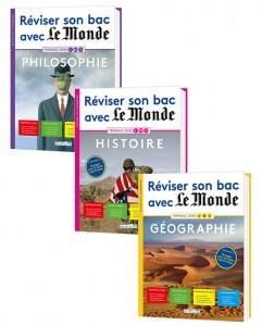 Lot Réviser son bac avec Le Monde, version augmentée - Terminale sérieL (3titres)
