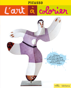 L'art à colorier : Picasso