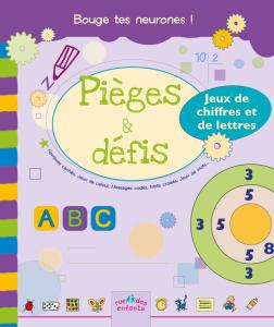 Pièges et défis : Jeux de chiffres et de lettres, version couverture souple