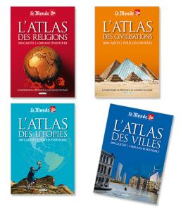 Lot Atlas du Monde (4 titres)