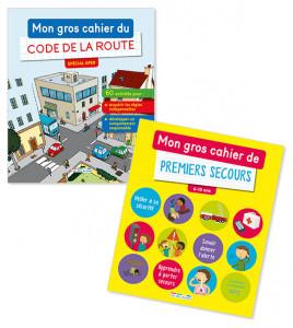 Lot Code de la route / Premiers secours (2titres)