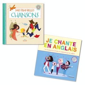 Lot Livres-CD : Chansons, à partir de 4 ans (2titres)