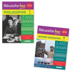Lot Réussite bac 2018 (2 titres)