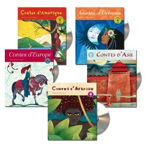 Lot Contes du monde en musique (5titres)