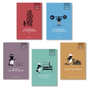 Les Petits Guides de la langue française LeMonde, vol. 1 à 5