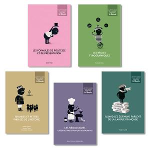 Les Petits Guides de la langue française LeMonde, vol. 26 à 30
