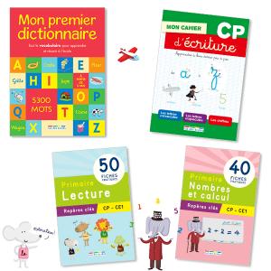 Pack Réussite CP (4 titres)