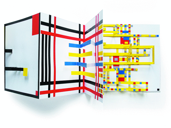 Mondrian, un pop-up monumental