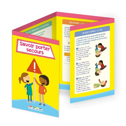 L'école en poche - Savoir porter secours