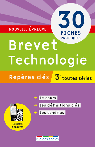 Repères clés : Brevet Technologies - 3e