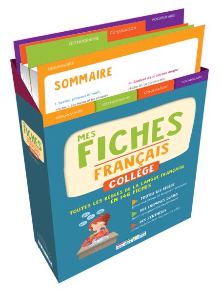 Boîte à fiches : Français Collège