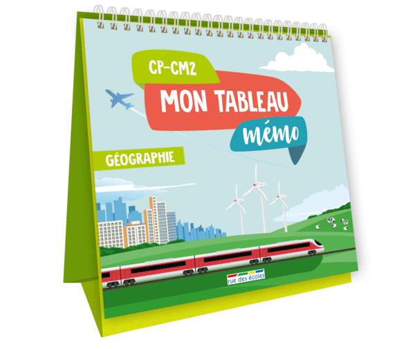 Mon tableau mémo - Géographie, CP-CM2