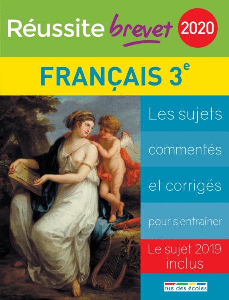 Réussite brevet 2020 - Français