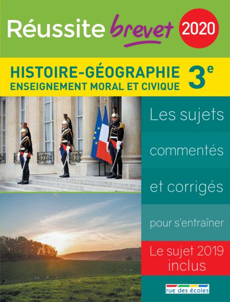 Réussite brevet 2020 - Histoire-Géographie-EMC