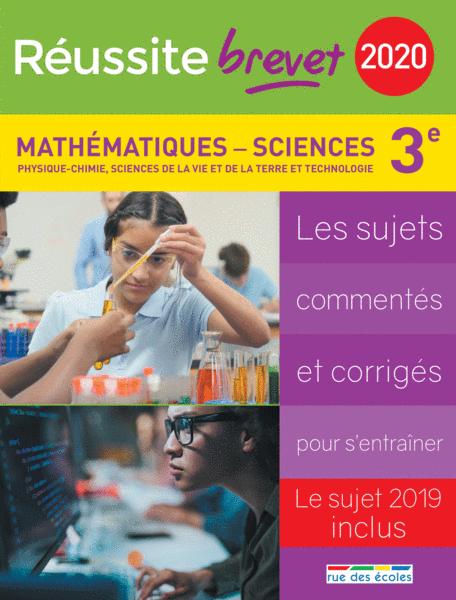 Réussite brevet 2020 - Mathématiques - Sciences