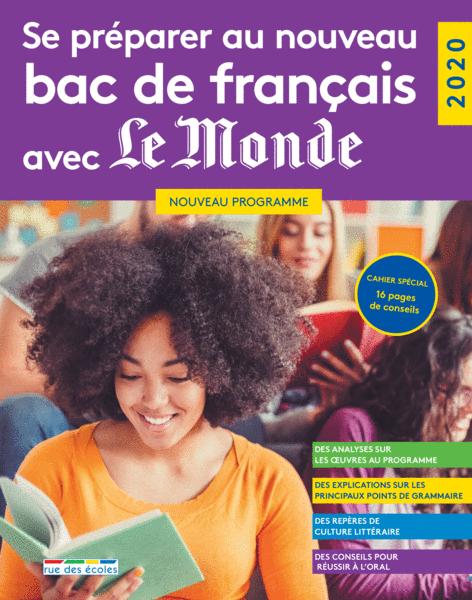 Se préparer au nouveau bac de français avec LeMonde - 2020