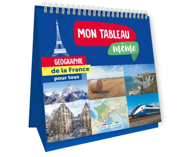 Mon tableau mémo - Géographie de la France
