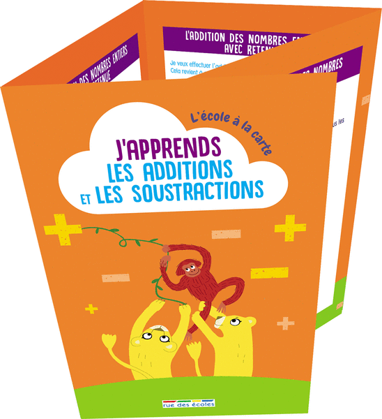 L'école à la carte - J'apprends les additions et les soustractions