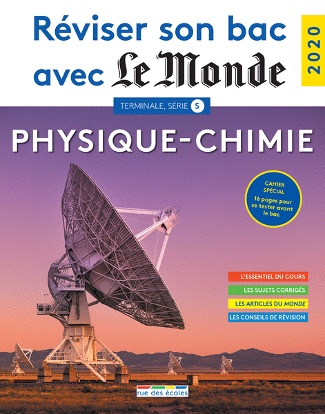 Réviser son bac avec LeMonde: Physique-Chimie TS