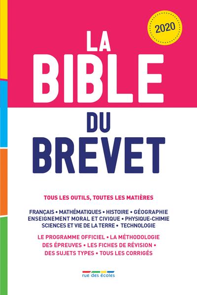 La Bible du Brevet, Édition2020
