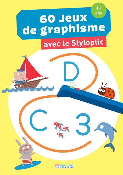 60 jeux de graphisme avec le Styloptic - Moyenne Section
