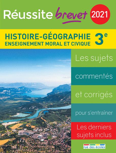 Réussite brevet 2021 - Histoire-Géographie-EMC