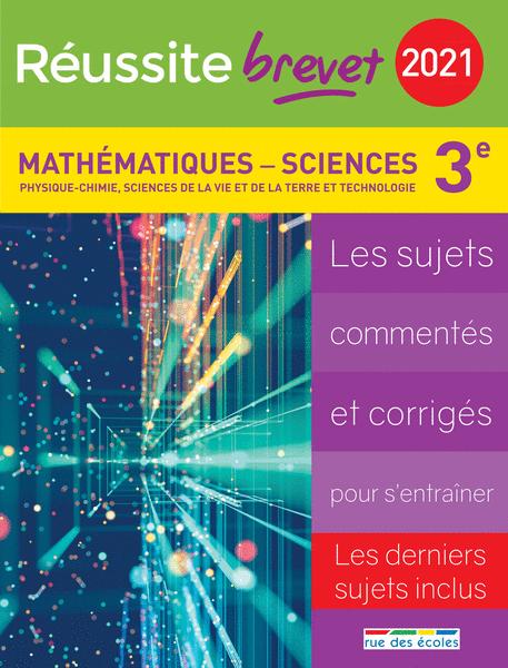 Réussite brevet 2021 - Mathématiques - Sciences
