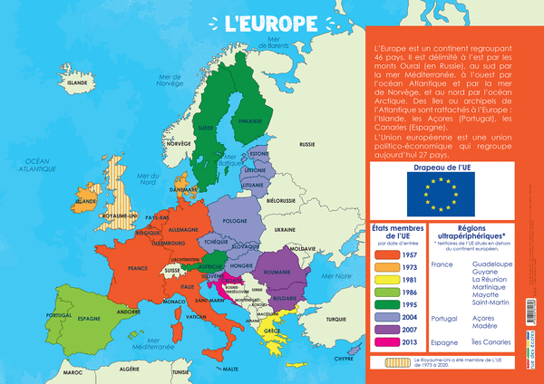 Les Posters de l'école - Lemonde etl'Europe