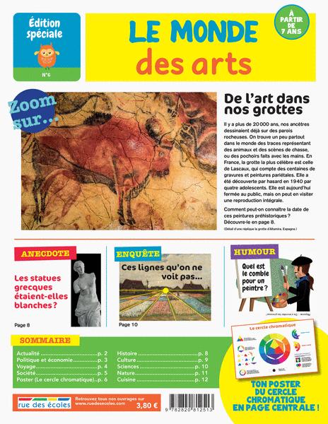 Édition spéciale n°6 - Le monde des arts, àpartir de 7ans