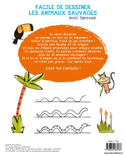 Place des enseignants facile de dessiner les animaux - Comment dessiner des animaux facilement ...