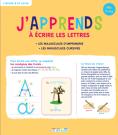 J'apprends à écrire les lettres, dès 5 ans