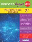 Réussite brevet 2018 - Mathématiques - Sciences