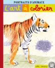 L'art à colorier : Portraits d'animaux