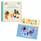 Lot Livres-CD : Chansons (2titres)