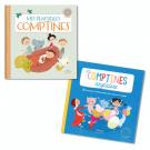 Lot Livres-CD: Comptines (2titres)