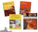 Lot Contes & Fables, version couverture souple (4 titres)