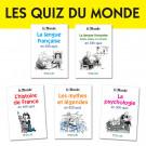 Lot Quiz du Monde (5 titres)