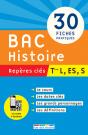 Repères clés : Bac Histoire - Term L, ES, S