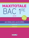 Maxitotale 2018 - Bac 1re