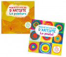 Lot Mon petit atelier d'artiste: Peinture et Pastel (2 titres)