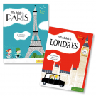 Lot Ma balade à Paris - Londres (2 titres)