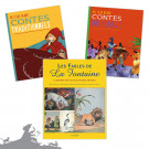 Lot Contes & Fables, version couverture souple (3 titres)
