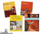Lot Contes & Fables, version couverture souple (4titres)