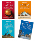 Lot Atlas du Monde (4 titres)